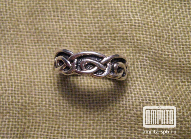 заказать кольцо с знаком бесконечности